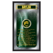"Baylor 26"" x 15"" Fight Song Mirror by Holland Bar Stool Company"