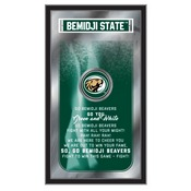 """Bemidji State 26"""" x 15"""" Fight Song Mirror by Holland Bar Stool Company"""
