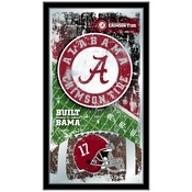 "Alabama 15"" x 26"" Football Mirror by Holland Bar Stool Company"