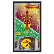 "Arizona State 15"" x 26"" Football Mirror by Holland Bar Stool Company"