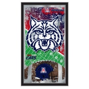 "Arizona 15"" x 26"" Football Mirror by Holland Bar Stool Company"
