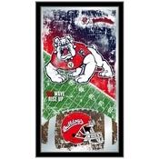 "Fresno State University 15"" x 26"" Football Mirror by Holland Bar Stool Company"