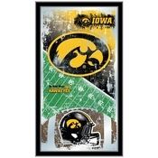 "Iowa 15"" x 26"" Football Mirror by Holland Bar Stool Company"