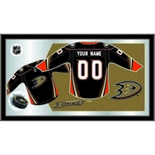 "Anaheim Ducks 15"" X 26"" Jersey Mirror By Holland Bar Stool Company"