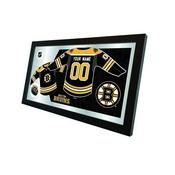 "Boston Bruins 15"" X 26"" Jersey Mirror By Holland Bar Stool Company"