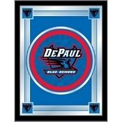 "DePaul 17"" x 22"" Logo Mirror by Holland Bar Stool Company"