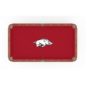 Arkansas Pool Table Cloth by HBS