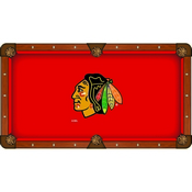 Chicago Blackhawks Pool Table Cloth by HBS