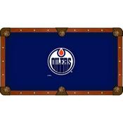 Edmonton Oilers Pool Table Cloth by HBS