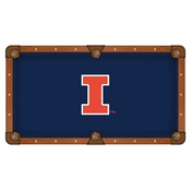 Illinois Pool Table Cloth by HBS