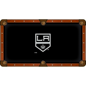 Los Angeles Kings Pool Table Cloth by HBS
