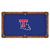 Louisiana Tech Pool Table Cloth by HBS