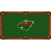 Minnesota Wild Pool Table Cloth by HBS