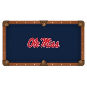 Ole' Miss Pool Table Cloth by HBS