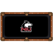 Northern Illinois Pool Table Cloth by HBS