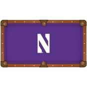 Northwestern Pool Table Cloth by HBS