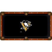 Pittsburgh Penguins Pool Table Cloth by HBS