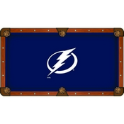 Tampa Bay Lightning Pool Table Cloth by HBS