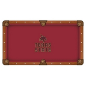 Texas State Pool Table Cloth by HBS