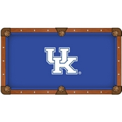 Kentucky UK Pool Table Cloth by HBS