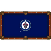 Winnipeg Jets Pool Table Cloth by HBS