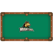 Wright State Pool Table Cloth by HBS
