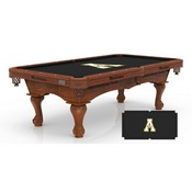 Appalachian State 8' Pool Table by Holland Bar Stool Co.