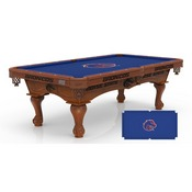 Boise State 8' Pool Table by Holland Bar Stool Co.
