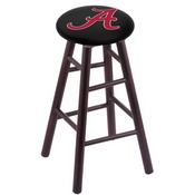 Stool with Alabama Logo Seat by Holland Bar Stool Co. (A Logo)