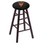 Stool with Arizona State (Pitchfork) Logo Seat by Holland Bar Stool Co.