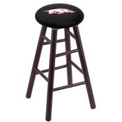 Stool with Arkansas Logo Seat by Holland Bar Stool Co.