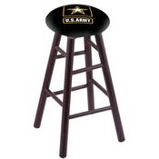 Stool with U.S. Army Logo Seat by Holland Bar Stool Co.