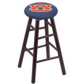 Stool with Auburn Logo Seat by Holland Bar Stool Co.
