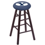 Stool with Brigham Young Logo Seat by Holland Bar Stool Co.
