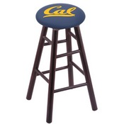 Stool with Cal Logo Seat by Holland Bar Stool Co.