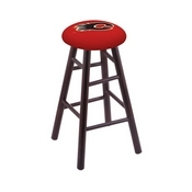 Stool with Calgary Flames Logo Seat by Holland Bar Stool Co.