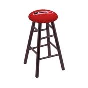 Stool with Carolina Hurricanes Logo Seat by Holland Bar Stool Co.