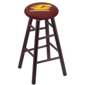Stool with Central Michigan Logo Seat by Holland Bar Stool Co.
