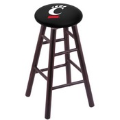 Stool with Cincinnati Logo Seat by Holland Bar Stool Co.