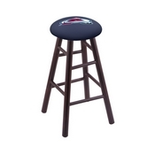 Stool with Colorado Avalanche Logo Seat by Holland Bar Stool Co.