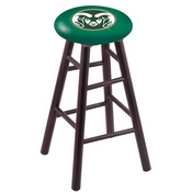 Stool with Colorado State Logo Seat by Holland Bar Stool Co.