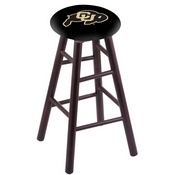 Stool with Colorado Logo Seat by Holland Bar Stool Co.