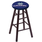 Stool with Connecticut Logo Seat by Holland Bar Stool Co.