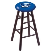 Stool with Creighton Logo Seat by Holland Bar Stool Co.