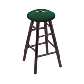 Stool with Dallas Stars Logo Seat by Holland Bar Stool Co.