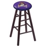 Stool with East Carolina Logo Seat by Holland Bar Stool Co.