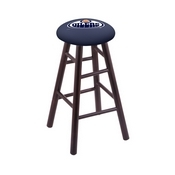 Stool with Edmonton Oilers Logo Seat by Holland Bar Stool Co.