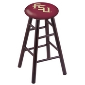 Stool with Florida State (Script) Logo Seat by Holland Bar Stool Co.