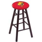 Stool with Ferris State Logo Seat by Holland Bar Stool Co.