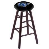 Stool with Grand Valley State Logo Seat by Holland Bar Stool Co.